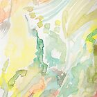 Colorful Abstract Watercolor by Lindsay Coleman