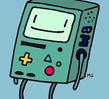Happy Beemo by Michelle Gish