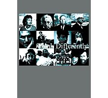 Think Differently  Homeage to Steve Jobs Photographic Print