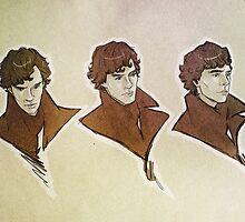 Sherlock - Faces by Sempaiko