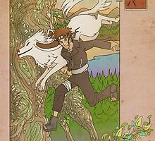 Woodblock - Kiba by Sempaiko