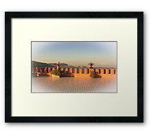 ... Villa Volpicelli / Posillipo - Naples - Italy Framed Print