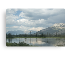 View from a Train Metal Print