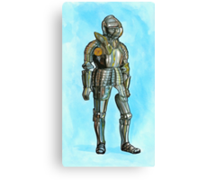 Ghost in armor Canvas Print