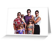 Full House - Thug Life Greeting Card