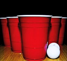 Beer pong by Guiles174