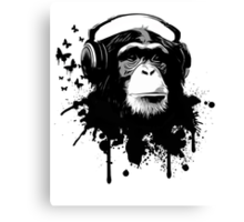 Monkey business Canvas Print