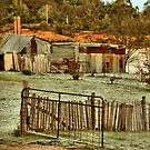 The Potter's Shed - Hill End NSW Australia by Bev Woodman