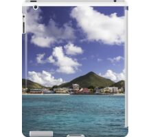 Great Bay: Philipsburg, St. Maarten iPad Case/Skin
