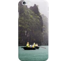 Rain & Rowboats: Life in Halong Bay, Vietnam  iPhone Case/Skin