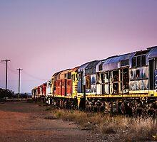 Working Trains by Christy Radford