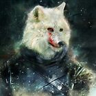 jon snow by badmiaou