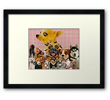 Dogs are Fun Framed Print