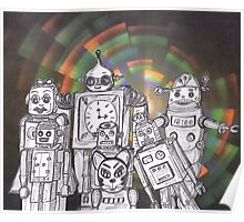 Robot Holiday 12 Poster