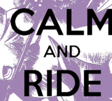 Keep Calm and Ride Chocobo - Final Fantasy 7 Sticker