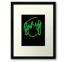 Scott Pilgrim VS the World - Have you seen a girl with hair like this...Ramona Flowers GREEN Framed Print