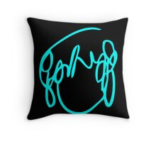 Scott Pilgrim VS the World - Have you seen a girl with hair like this...Ramona Flowers BLUE Throw Pillow