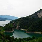 Lago di Santa Giustina by heinrich