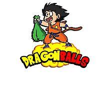 Dragon Balls - Dragon Ball Z DBZ parody pun Photographic Print