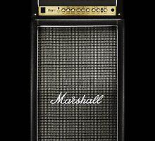 Marshall Electric Guitar Amp amplifier by Johnny Sunardi