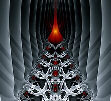 Fractal Art - Path To Hell by Sven Fauth