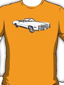 1975 Cadillac Eldorado Convertible Illustration T-Shirt