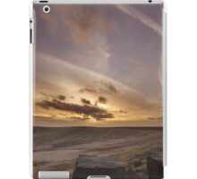Buckstone edge sunset iPad Case/Skin