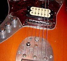 Nirvana Kurt Cobain Electric Guitar by Johnny Sunardi