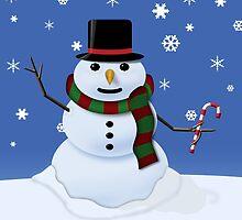 The Snowman by rsherwoodpix