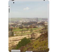 looking over sowerby bridge iPad Case/Skin