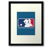 Major League Blernsball Framed Print