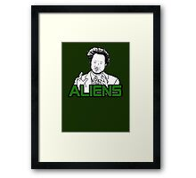 Ancient Aliens Guy Meme Framed Print