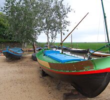 Boats at Silla port by jotagphoto