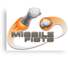 Missile Fists Canvas Print