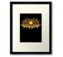 Sunchild Framed Print
