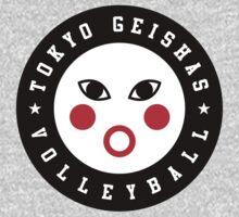 TOKYO GEISHAS VOLLEYBALL by JamesShannon