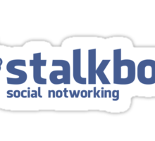 Stalkbook - social notworking Sticker