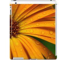 cicade op natte goudsbloem iPad Case/Skin