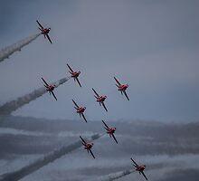 Red Arrows Curve by Jack Steel