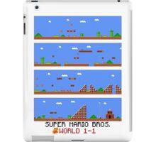 SUPER MARIO BROS - World 1-1 iPad Case/Skin