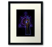 ☼ ☥  Anput, Guardian of Lore ☥ ☾  ~ (Anubis' Feminine Aspect) Framed Print