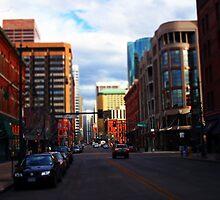 Denver Tilted by Jeffrey J. Miller