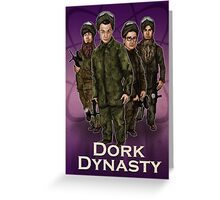 Dork Dynasty Greeting Card