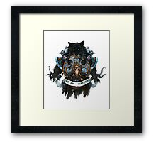 Wolves of Fenris Framed Print