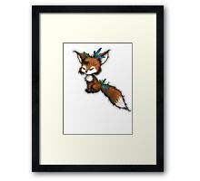 Spirit Fox - Totem Animal  Framed Print