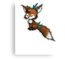 Spirit Fox - Totem Animal  Canvas Print