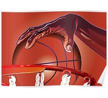Basketball Slam Dunk Point Print / iPad Case / iPhone 5 Case / T-Shirt / Samsung Galaxy Cases  / Duvet Poster