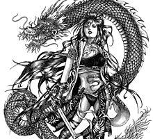 Dragon Warrior - Year of the Dragon by LKBurke29