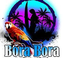 Bora Bora Beach Island by dejava