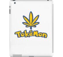Tokemon - gotta smoke em all iPad Case/Skin